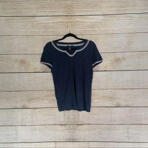 Navy Blue Lucky Brand T-shirt